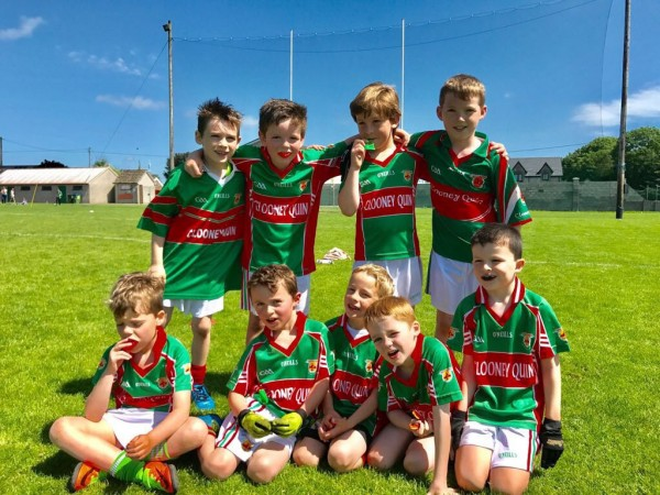 U8 Footballers on the road again