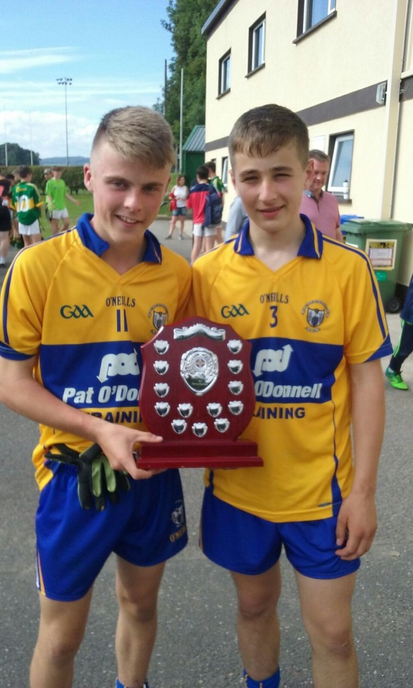 Congratulations Clare U14 football squad Munster U14 Shield Champions.