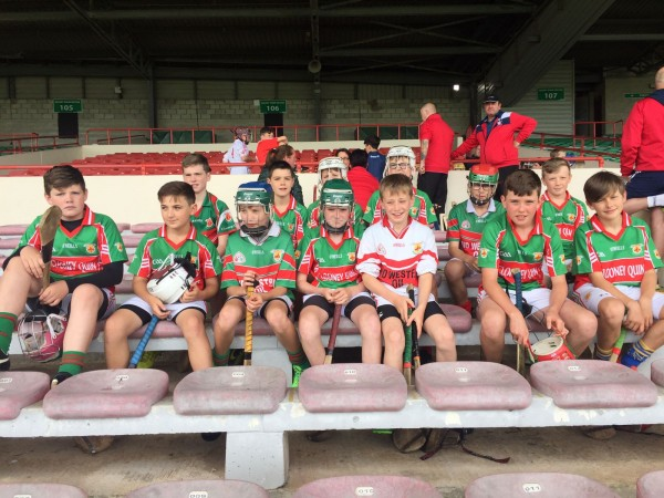 U12 Hurlers in Gaelic Grounds Day Out