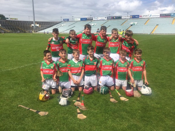 U13 Hurlers Get their first win over Clonlara