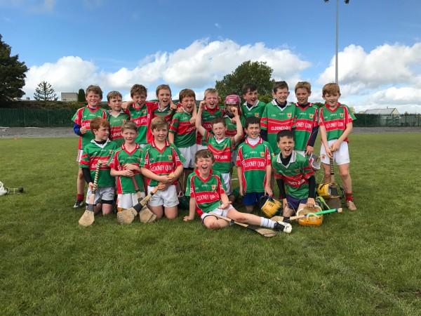 Under 10s Win Tournament in Ballinasloe.