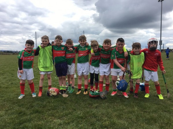 U10s First hurling blitz of the year in Caherlohan