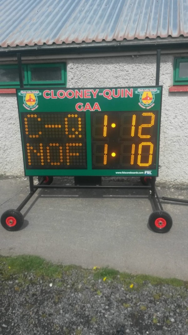 New Delivery to Clooney Quin Gaa
