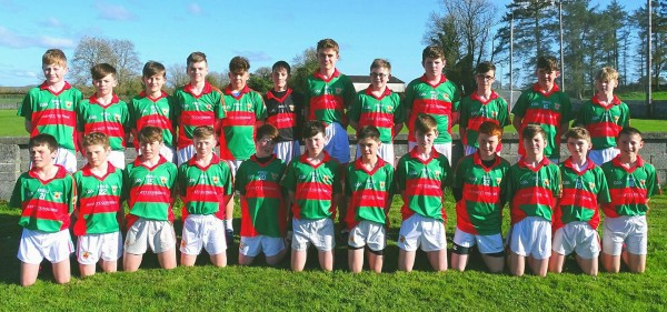 Support the U14 Hurlers in County Semi Final Friday in Éire Óg