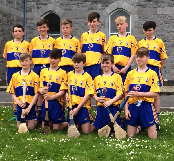 Clooney Quin U14s well represented in Clare's primary game team