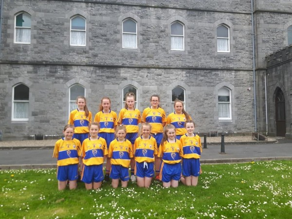 Two Clooney Quin Ladies Football players make Clare's primary game team
