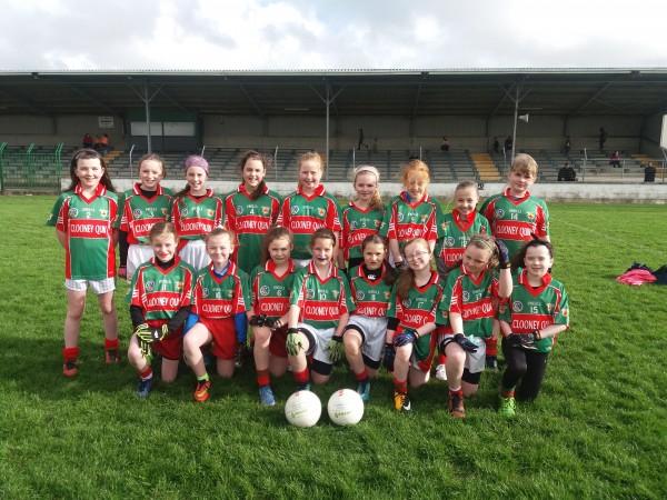 Ladies Football u12 green team update