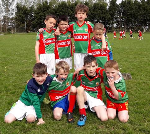Under 8 Football Blitz in Clooney Quin GAA