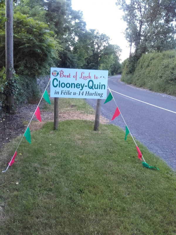 It is hurling Féile time in Clooney Quin