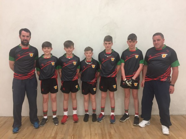 Clooney Quin Handball will be represented at Feile this weekend