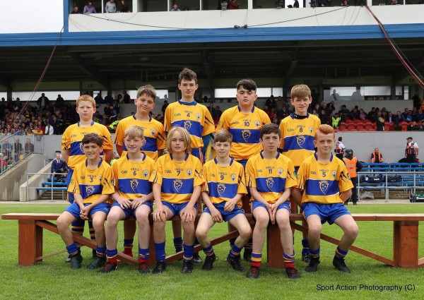 Well done to John Cahill in the Primary Game v Limerick.