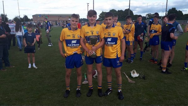 Clooney Quin well represented last weekend at county underage