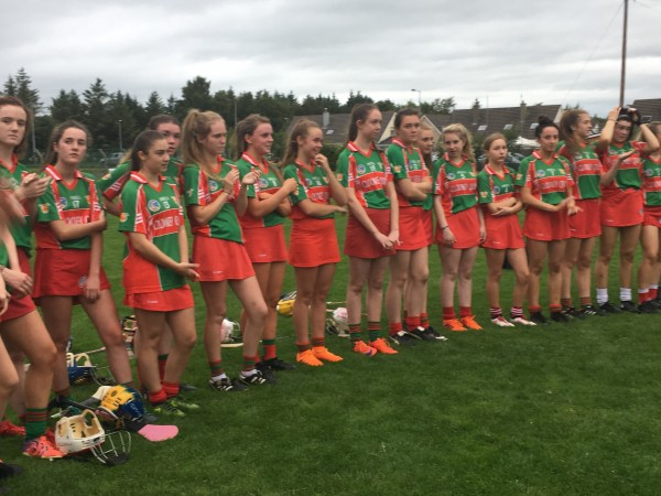 Clooney Quin / Banner U18B Camogie Champions for 2018