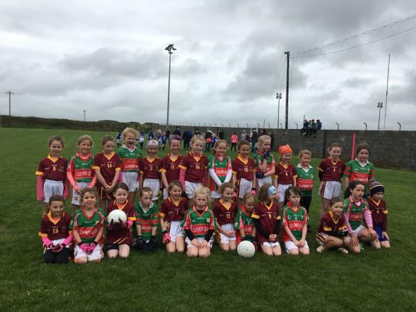 U8 Ladies Football Blitz in Quilty