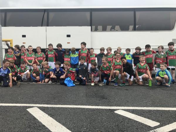 U8 Hurling & Football Trip Away to Ballinasloe