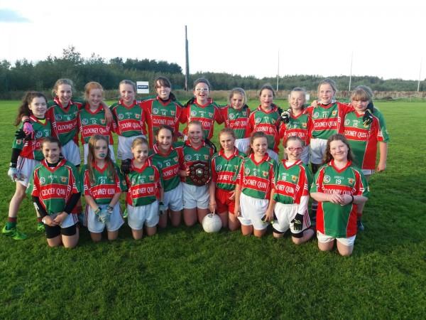 Ladies Football U12 D Plate Winners