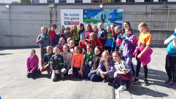 Clooney Quin under 10s and 12s day out in Croke Park