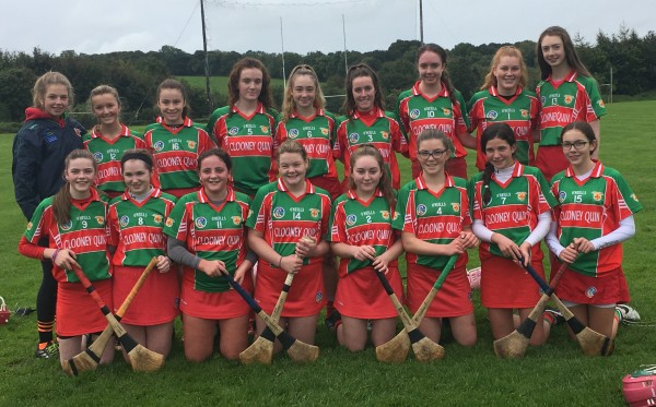U16 Camogie Team through to Shield Final after very tough semi final