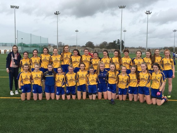 Clooney Quin well represented in Munster U14 Ladies Football Championship