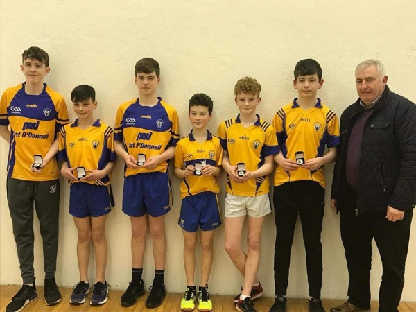Munster U14/15 Handball Title for Clooney Quin Player