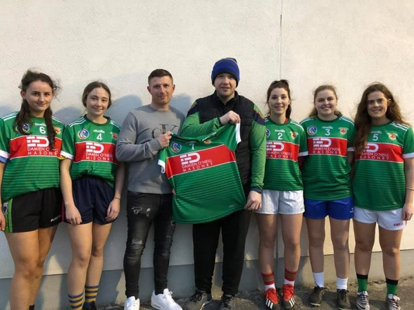 Clooney Quin Camogie and Ladies Football New sponsor Damien O'Neill