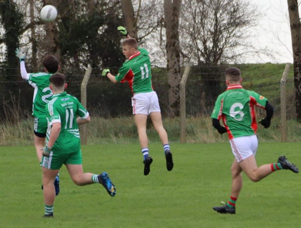 U16 Footballers had tough battle to the end in Shannon