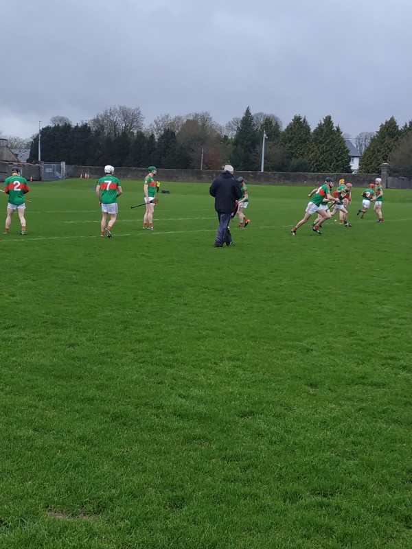 Senior Hurlers snatch a draw in Clare Cup Rnd 1