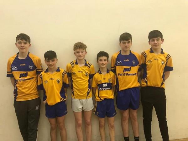 Best of luck to the Clare U14/15 handball team