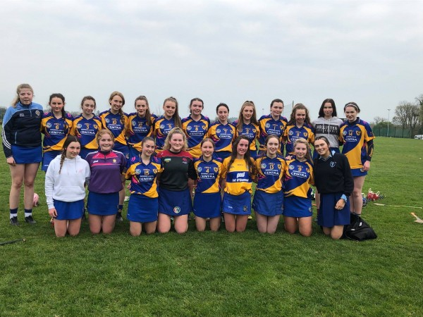 Clooney Quin Banner Minor A Camogie Win