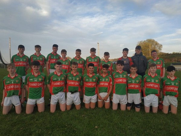 U16B Footballers into Final in Cusack Park Monday evening May 20th