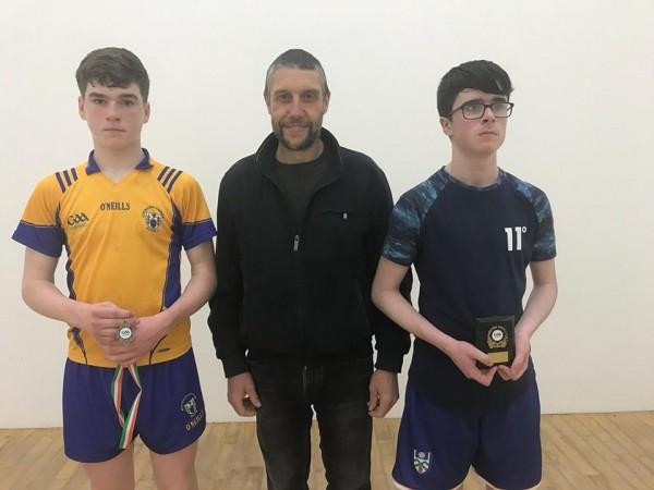 Considine Brothers in Handball action