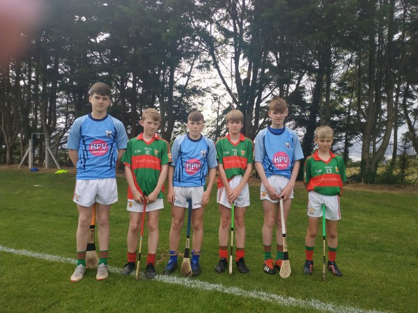 Clooney Quin GAA U14 hurlers lend their support to the #HPVvaccine