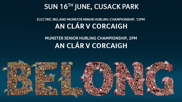 Get behind the Clare Senior and Minor Hurling Teams this weekend in Cusack Park