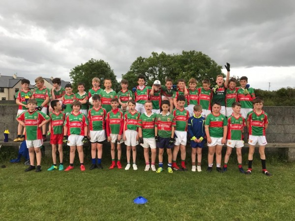 U12 Football played Cooraclare and Kilimer this week
