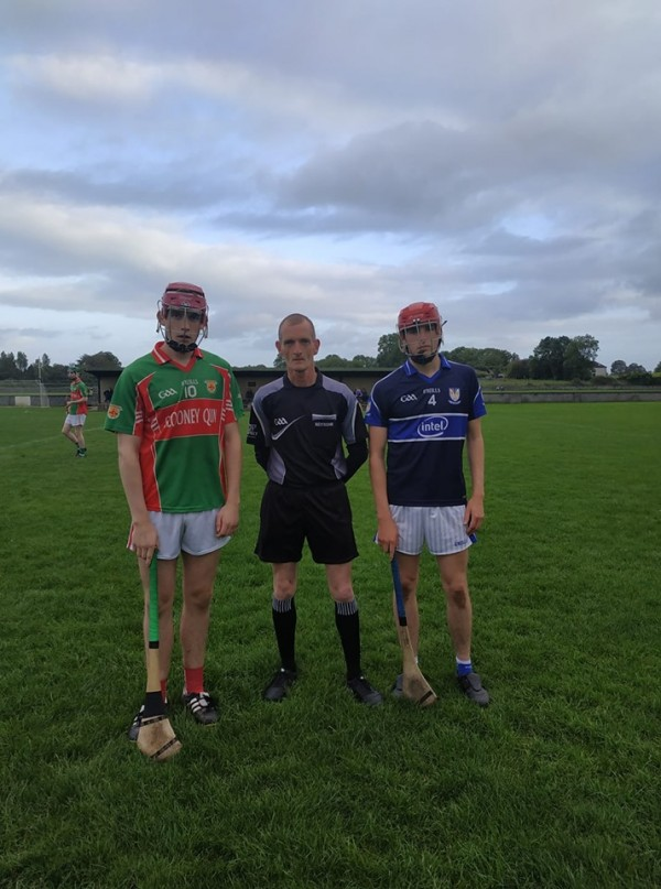 Minor Hurling QF in Inagh this evening