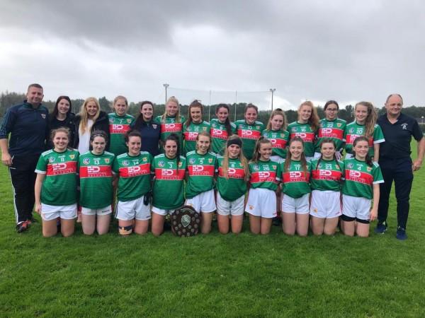 Junior Ladies Football team win shield title