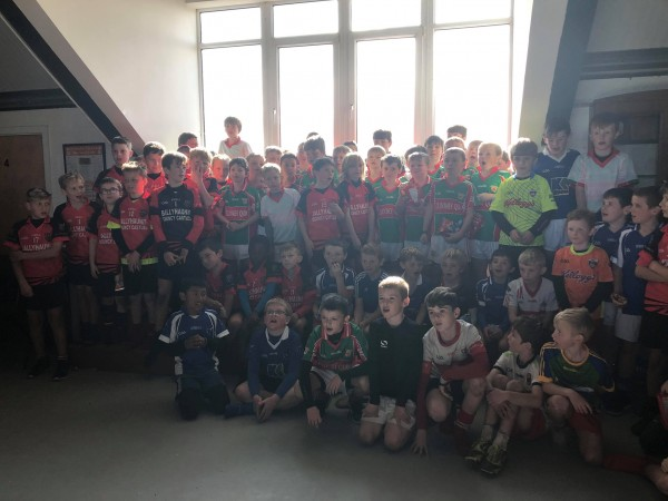 Clooney Quin U10 boys went to Ballyhaunis for a day