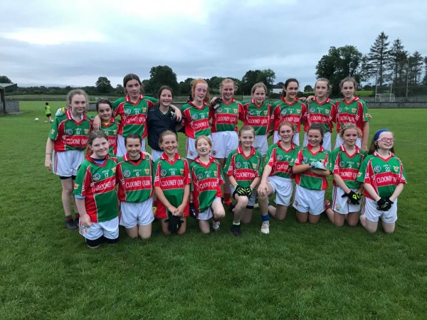 Clooney Quin U12 Ladies Football 2019 Year End Review